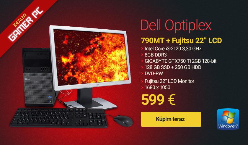 PC zostava dell optiplex 790 mt 22 fujitsu b22w 5