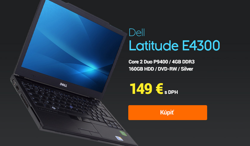 notebook dell latitude e4300