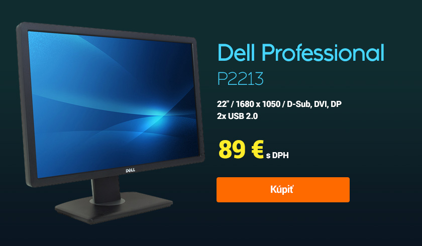 monitor dell professional p2213