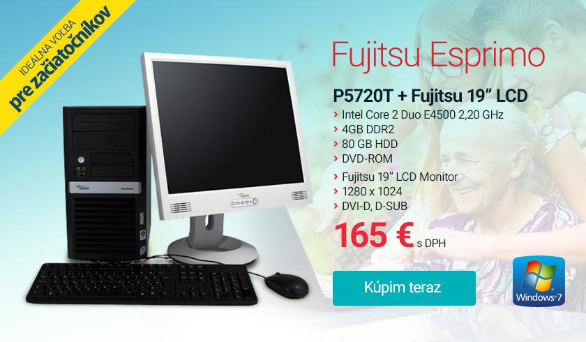 PC zostava fujitsu esprimo p5720 t 19 fujitsu p19