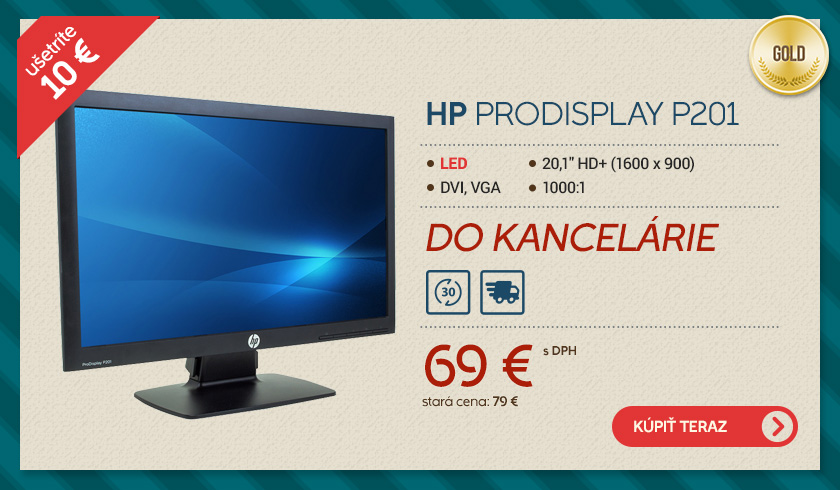 monitor hp prodisplay p201