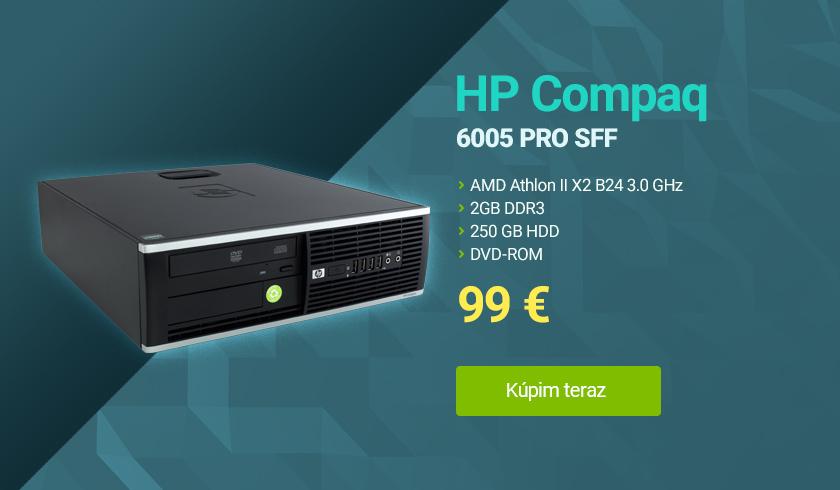 pocitac hp compaq 6005 pro sff