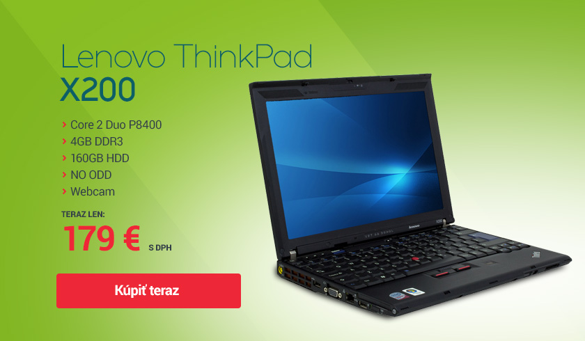 notebook lenovo thinkpad x200